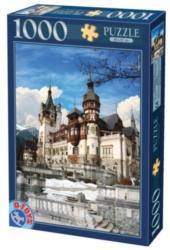 D-Toys Peles Castle Portrait Jigsaw Puzzle