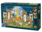 Building Stonehenge - 1000pc Jigsaw Puzzle by D-Toys