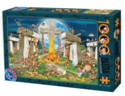 D-Toys Building Stonehenge Jigsaw Puzzle