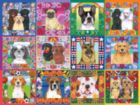 A Year of Dogs - 550pc Jigsaw Puzzle By White Mountain