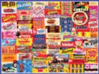 Vintage Candy Wrappers - 300pc Jigsaw Puzzle By White Mountain