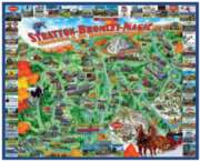 White Mountain Manchester & the Mountains Jigsaw Puzzle