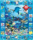 Dolphin Kingdom - 300pc Jigsaw Puzzle By White Mountain