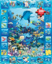 White Mountain Dolphin Kingdom Jigsaw Puzzle
