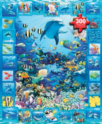 White Mountain Dolphin Kingdom Jigsaw Puzzle