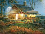 White Mountain Autumn Traditions Jigsaw Puzzle