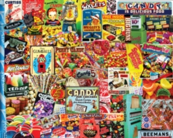 White Mountain Penny Candy Jigsaw Puzzle