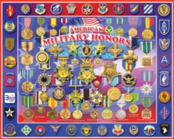 White Mountain Military Honors Jigsaw Puzzle