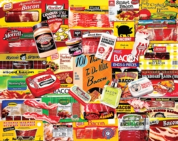 White Mountain Bacon 101 Jigsaw Puzzle