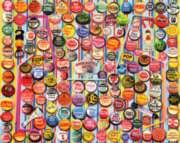 White Mountain Soda Caps Jigsaw Puzzle