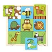 Melissa & Doug Animals Peek-Through Jigsaw Puzzle