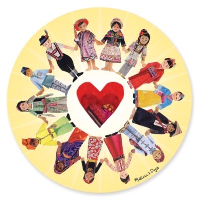 Melissa & Doug Circle of Friends Jigsaw Puzzle