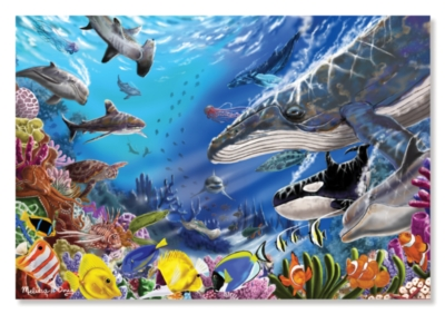 Melissa & Doug Living Ocean Jigsaw Puzzle