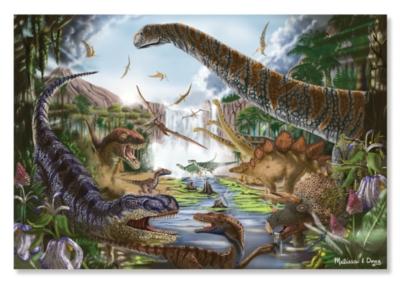 Melissa & Doug Prehistoric Waterfall Jigsaw Puzzle
