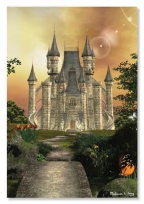 Melissa & Doug Towering Castle Jigsaw Puzzle