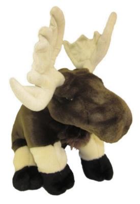 """Moose - 12"""" Moose By Wild Republic"""