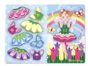 Melissa & Doug Fairy Dress-Up Chunky Wood Puzzle