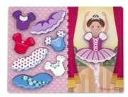 Melissa & Doug Ballerina Dress-Up Jigsaw Puzzle