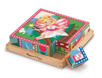 Melissa & Doug Princesses & Fairies Cube Jigsaw Puzzle