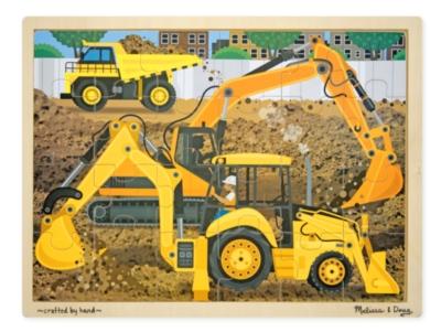 Melissa & Doug Construction Jigsaw Puzzle
