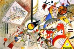 Piatnik Kandisnky: Bustling Aquarelle Jigsaw Puzzle