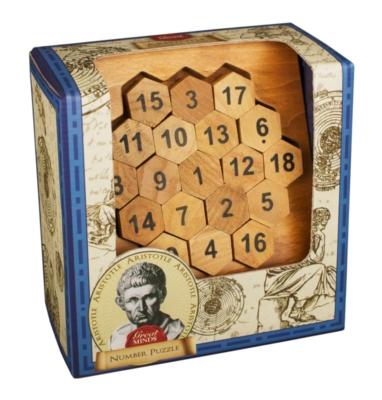Professor Puzzle Great Minds Aristotle's Number Brain Teaser Puzzle