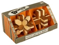 Bamboozler 2-Piece Gift Set Brain Teaser