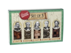 Great Minds 5X Wooden Puzzle Set