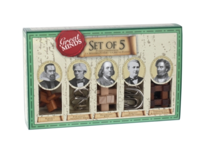 Great Minds 5X Wooden Puzzle Set