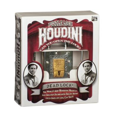 Professor Puzzle Houdini Dead Lock Brain Teaser