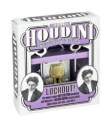 Professor Puzzle Houdini Lockout Brain Teaser