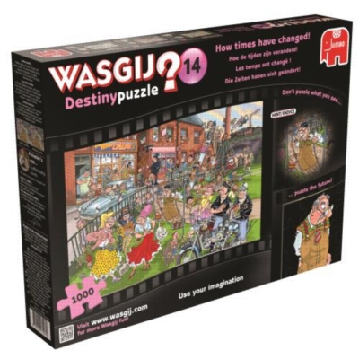 How The Times Have Changed WASGIJ Puzzle by Jumbo