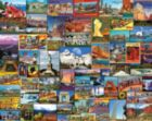Best Places in America - 1000pc Jigsaw Puzzle by White Mountain