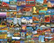 White Mountain Best Places in America 1000-piece Jigsaw Puzzle
