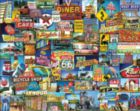 Roadside America - 1000pc Jigsaw Puzzle by White Mountain