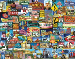 White Mountain Roadside America 1000-piece Jigsaw Puzzle