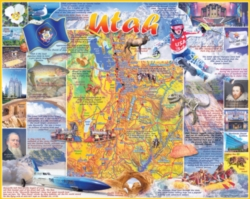White Mountain Utah 1000-piece Jigsaw Puzzle