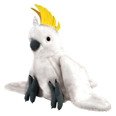"Sulphur-Crested Cockatoo - 12"" Bird By Wild Republic"