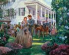 Magnolia Morning - 1000pc Jigsaw Puzzle by White Mountain