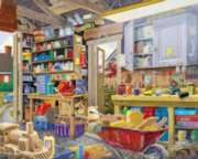 White Mountain Grampa's Shed 1000-piece Jigsaw Puzzle