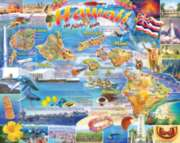 White Mountain Hawaii 1000-piece Jigsaw Puzzle