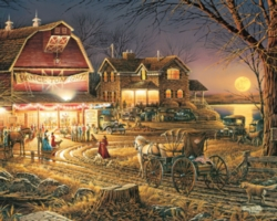 White Mountain Harvest Moon Ball 1000-piece Jigsaw Puzzle