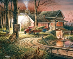 White Mountain Hunter's Haven 1000-piece Jigsaw Puzzle