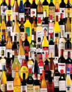 White Mountain Wine Bottles 1000-piece Jigsaw Puzzle