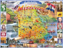 White Mountain Missouri 1000-piece Jigsaw Puzzle