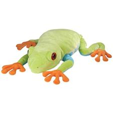 "Red-Eyed Tree Frog - 30"" Frog By Wild Republic"