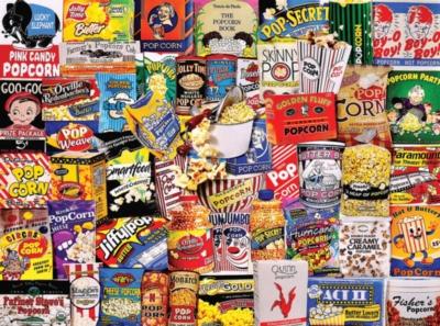 White Mountain Popcorn 550-piece Jigsaw Puzzle