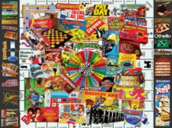 White Mountain Favorite Games 300-piece Jigsaw Puzzle