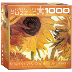Eurographics Sunflowers by Van Gogh (Small Box) Jigsaw Puzzle