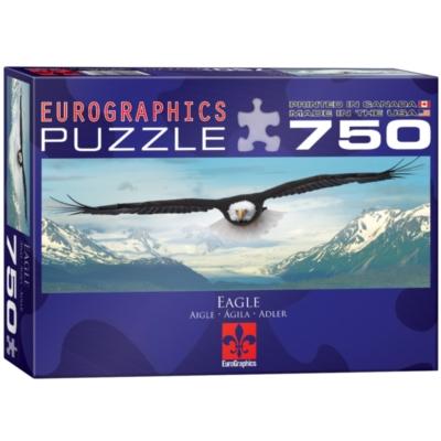 Eurographics Eagle over Mountain Jigsaw Puzzle